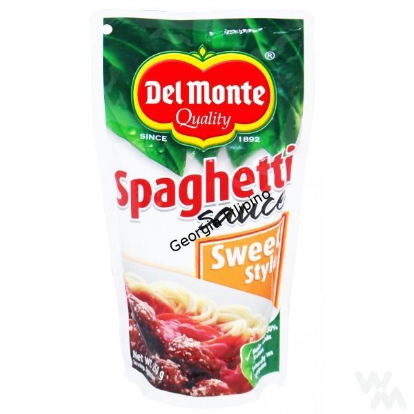 Del Monte Spaghetti Sauce Sweet Style 250g Georgia Filipino Shop