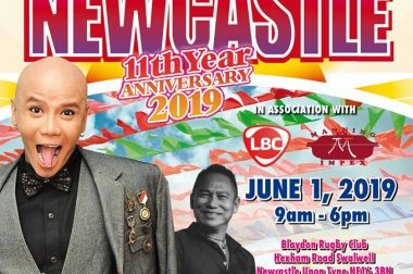 Independence Day at Pistahan sa Newcastle 2019